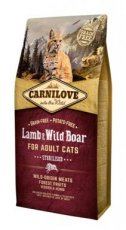 CARNILOVE CAT LAM-EVERZWIJN 400GR