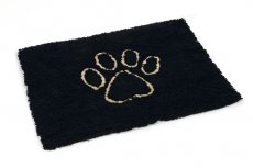 DIRTY DOG MAT 88/68 ZWART