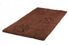DIRTY DOG MAT RUNNER BRUIN