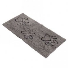 DIRTY DOG MAT RUNNER GRIJS